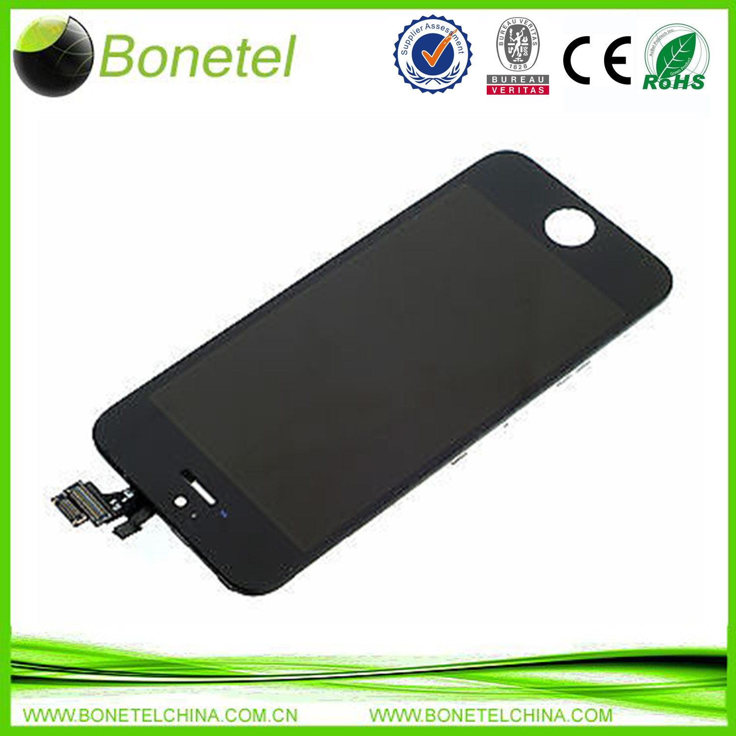 LCD Touchscreen Display Assembly Digitizer for iPhone 5C Black