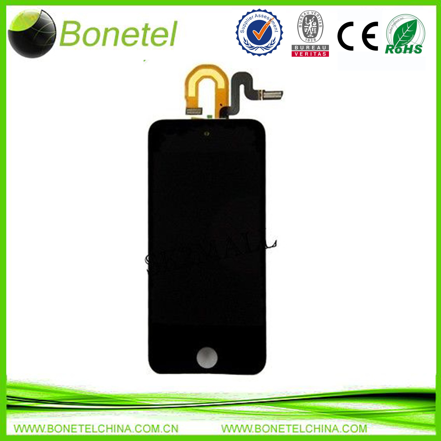 Black and White LCD Display Touch Screen Digitizer For Apple ipod Touch 5 5th Gen
