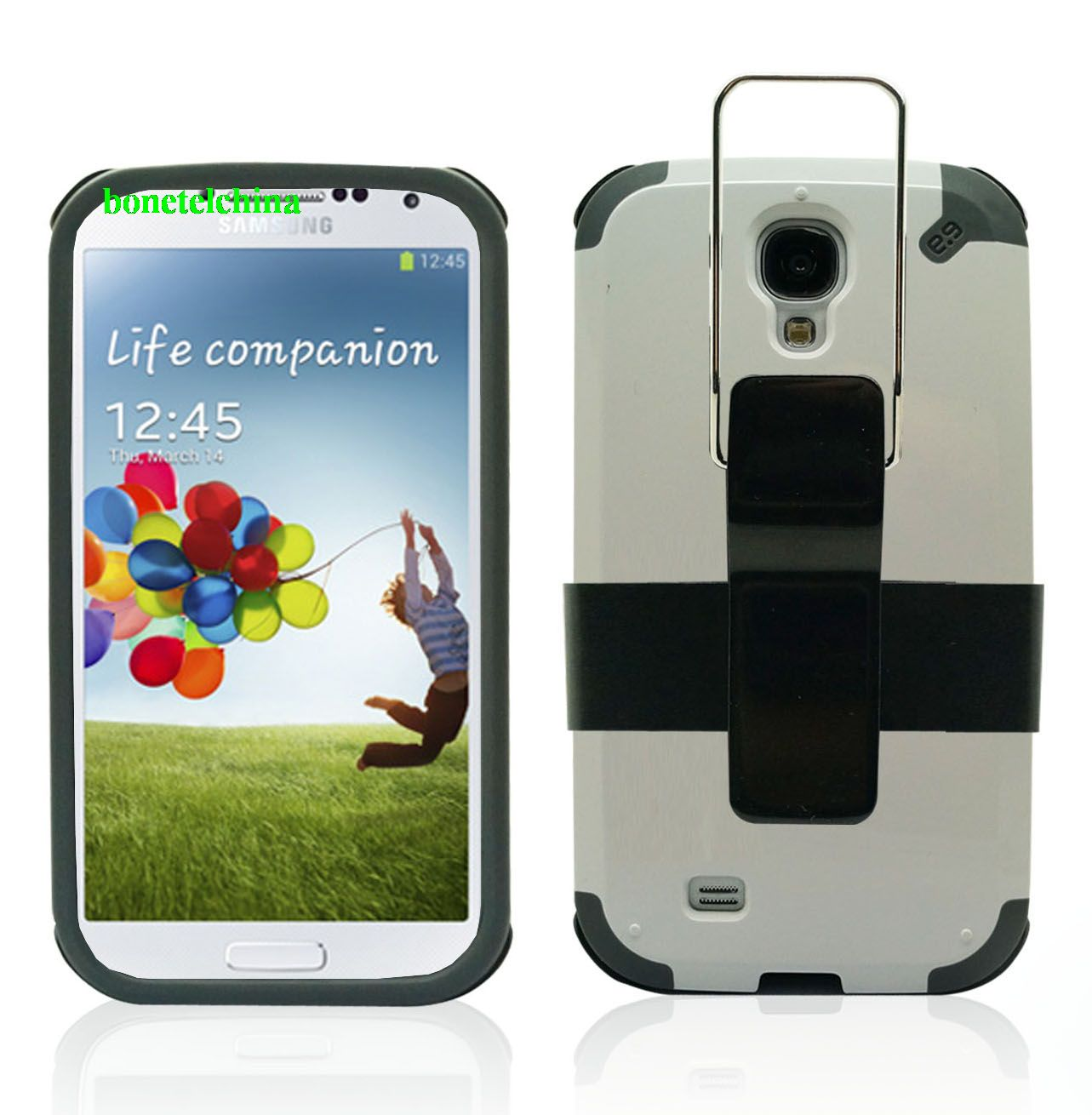 New Design Hybrid Combo Defender Kickstand Cases For Samsung Galaxy S4