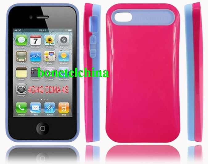 iGlow Noctilucent Luminous Cases for iPhone 4 4s