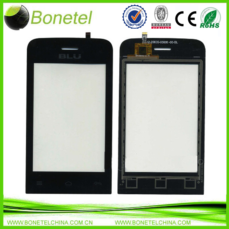 Touch Screen Digitizer Glass Replacement Part Black For BLU 42-20035-0598C-00SL