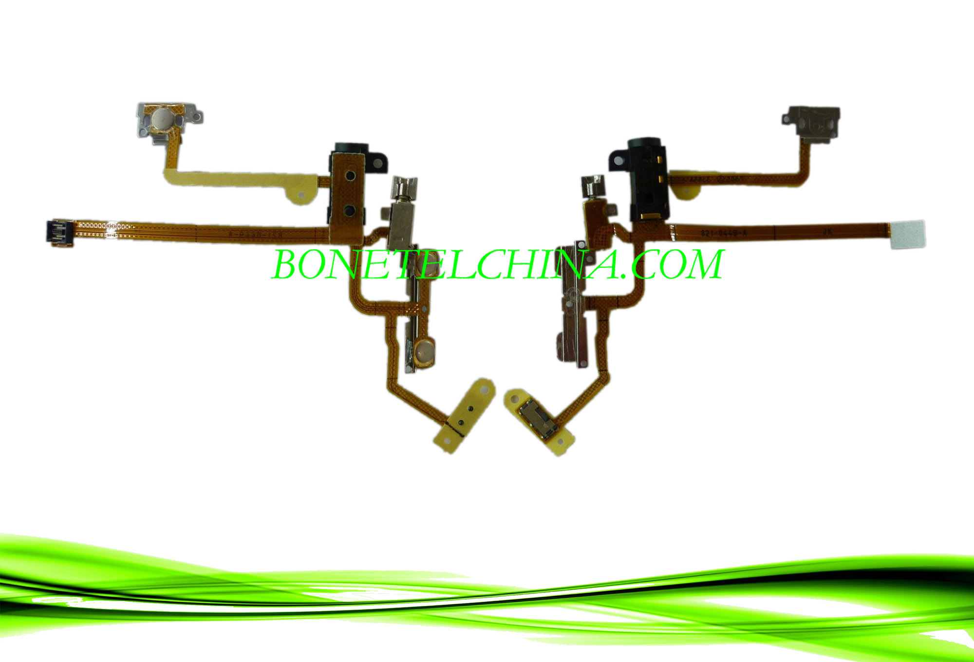 Mobile Phone Audio Jack Ribbon Flex Cable for iPhone 2g