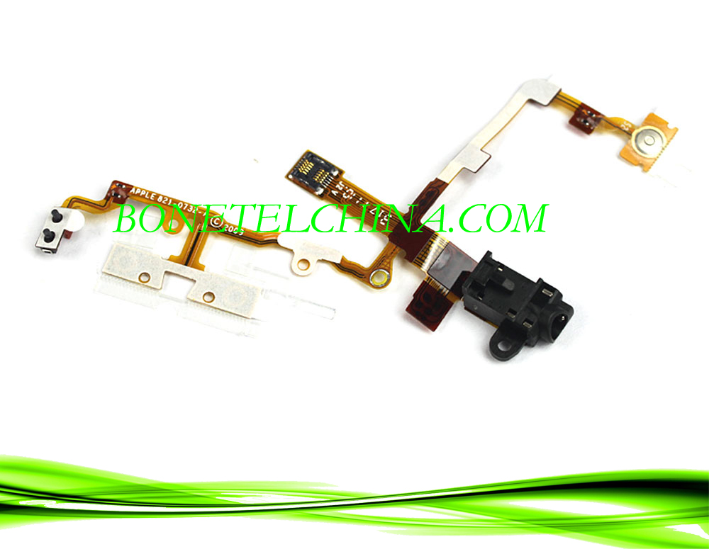 Mobile Phone Audio Jack Flex Cable for iPhone 3GS
