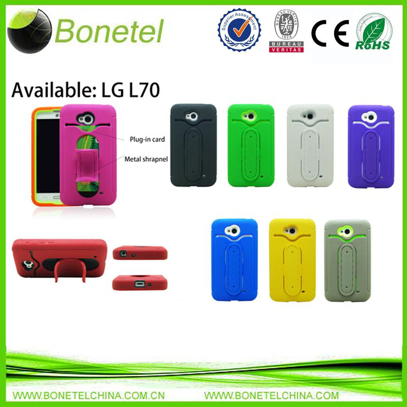 High quality Silicone mobile phone Case For LG L70