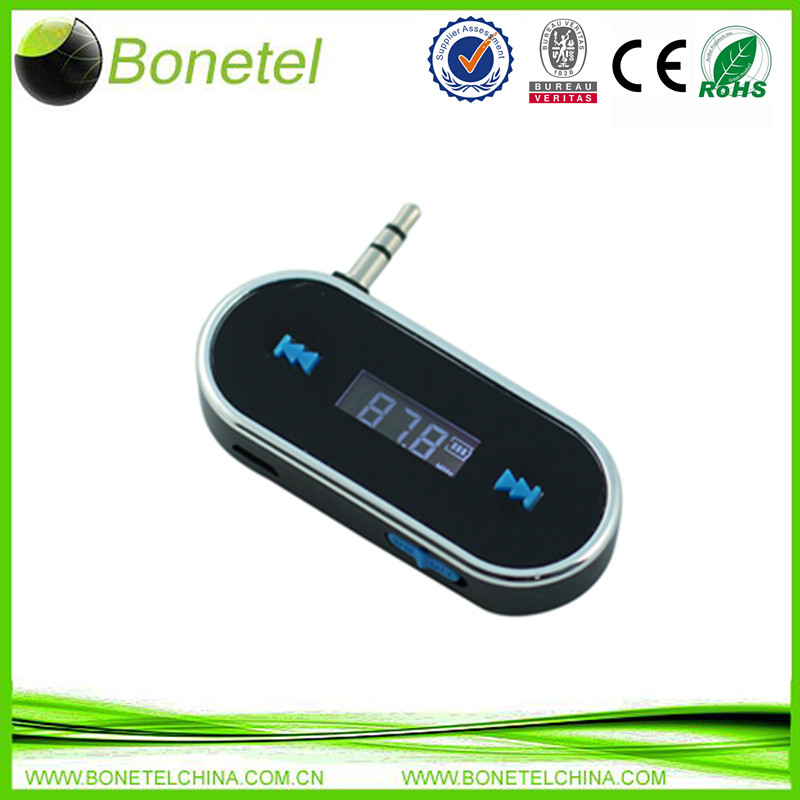 Mini FM Transmitter for iphones & other smart phones