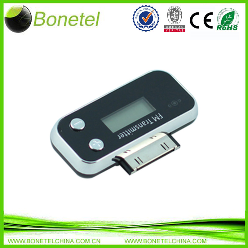 Mini FM Transmitter for iPods/iPhones