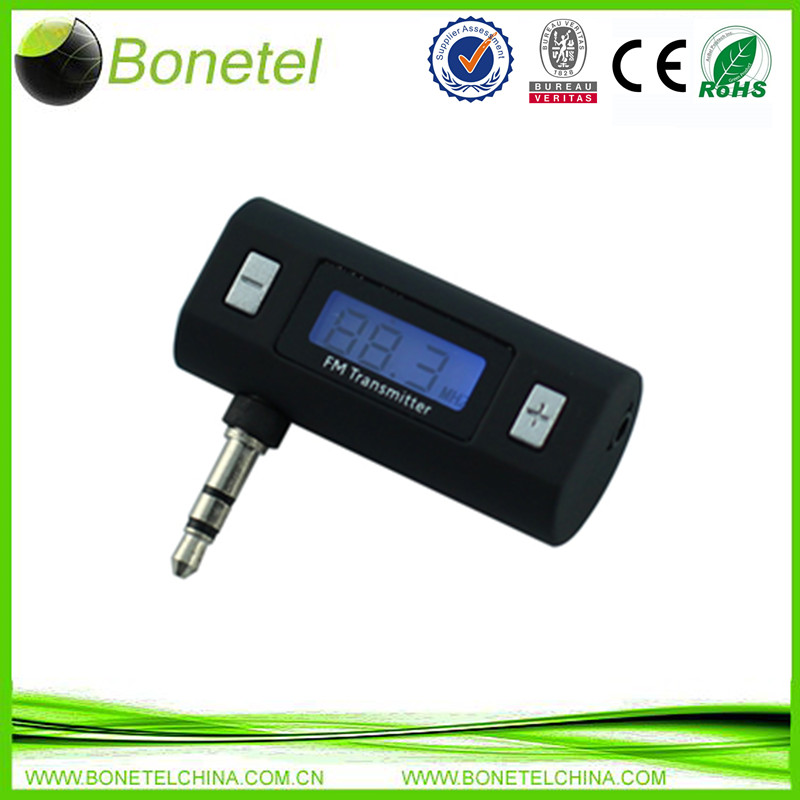 Mini FM Transmitter for iPod/iPhone/mobile phones