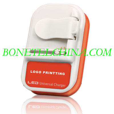 ALL U033 LED Universal charger(Orange)