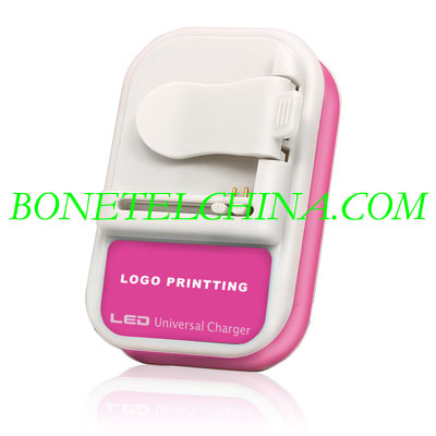 ALL U033 LED Universal charger(Pink)