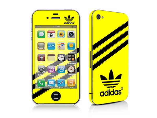 Colourful Skin/Colorful Sticker for iPhone 4S-0643G