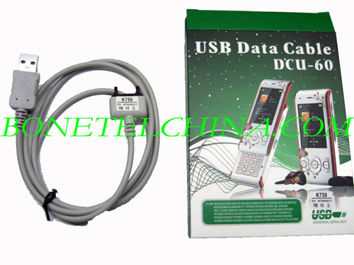 Mobile Phone Data cable for Sony Errission DCU-60