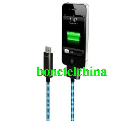 Visible Color Cable For iPad/iPhone/iPod-blue