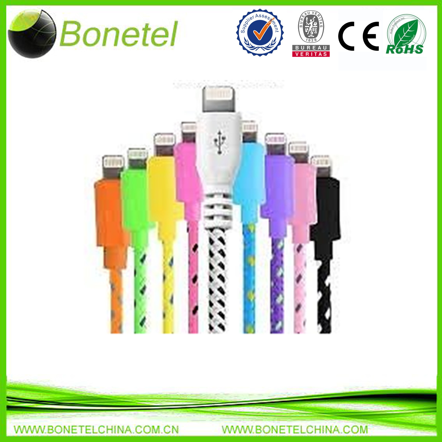 Usb Data Cable Usb Charger For iPhone 5C 5S iPad Air
